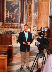 Interview with Bertalan during 2015 Populus Summorum Pontificum Pilgrimage